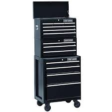 26 In. 13-drawer Heavy-duty Ball Bearing 3-pc Combo Is Perfect for Your Home, Garage or Small Work Shop. This 3 Piece Set Includes a Top Chest, Middle Chest and Rolling Cabinet. Store Small Parts, Hand Tools or Power Tools in These Storage Boxes. Gr (Craftsman 6 Drawer Ball Bearing)
