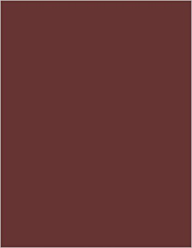 Merlot Stock - Merlot Matte Cardstock, 8 1/2 x 11 Gmund Colors Matt 111lb Cover, 25 pack