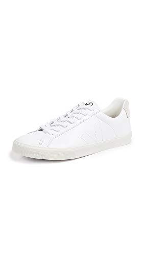 Veja Men's Esplar Leather Sneakers, Extra White, 43 M EU ()