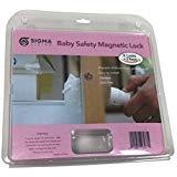 Sistema de bloqueo magnético para clóset de seguridad para bebé por Sigma Living – puerta de clóset a prueba de niños,...