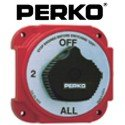 Perko Battery Switches Alternator - Perko 8603DP Heavy Duty Battery Selector Switch with Alternator Field Disconnect