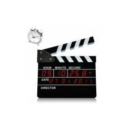 Clapperboard Digital Alarm Clock (Directors Edition)