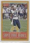 #9: Malcolm Butler (Football Card) 2017 Panini Classics - Super Bowl Heroes - Gold #SBH-MB