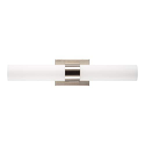 George Kovacs P5042-084 Saber Bathroom Vanity Light Brushed Nickel