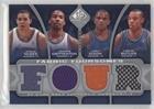JaVale McGee; Javaris Crittenton; Juan Dixon; Caron Butler #26/199 (Basketball Card) 2009-10 SP Game Used - Fabric Foursomes #F4-DBCM (Caron Fabric)