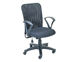 Heena Chairs - Black Office Desk Chair HC-047