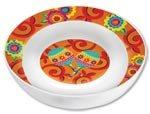 Amscan Fiesta Caliente Cinco De Mayo Party Round Melamine Bowl Serveware, Plastic, 13'' Childrens Supplies (6 Piece)