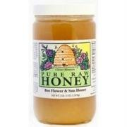 Bee Flower & Sun, Honey Raw Clover Blossom, 44 Ounce
