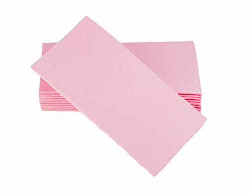 Simulinen Dinner Napkins - Disposable, Pink, Cloth-Like - Elegant & Heavy Duty, Soft & Absorbent, Like Paper but Better! 16