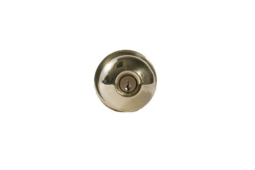 Arrow Lock RK-Series Standard Cold Rolled Steel Bright Brass Finish Entrance Schlage C Keyway Cylindrical Lockset, 1-3/8'' Door Thickness (Pack of 1) by Arrow Lock