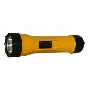 Bright Star 2618HD-10500, Incandescent Heavy-Duty Flashlight, 2D-Cell, Yellow (27 Units) ()
