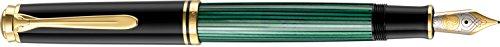 (Pelikan Fountain Pen Souverän M800 Series - Black/Green - Nib: M )
