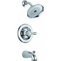 Delta 14478-SHL Leland Monitor 14 Series Tub and Shower Trim, Chrome (Delta Leland Bathtub Faucet)