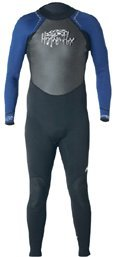 Hyperflex Wetsuits Men's Access 3/2mm Full Suit, Black/Blue, Large - Surfing, Windsurfing & Wakeboarding