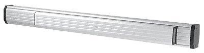 - CRL Aluminum Finish Jackson Retrofit Push Pad for 1085 Concealed Vertical Rod Panic Exit Device - Right Hand Reverse Bevel - 36