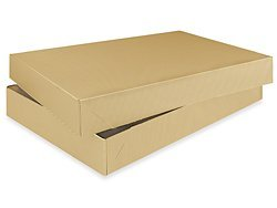 Bundleofbeauty Bk65t1 - 10pack Mens Shirt Kraft Brown Gift Wrap Packaging Box by CakeSupplyShop