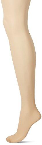 No Nonsense Women's Plus-size Sheer and Silky Lace Panty Pantyhose, Sheer Toe Sockshosiery, -Beige Mist, D