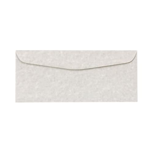 #10 Regular Envelopes (4 1/8 x 9 1/2) - Gray Parchment (500 Qty.) | Business | Perfect for Checks, Invoices, Letterhead, Letters, Statements, Direct Mail | Printable | 24lb Text Paper | 6660-13-500