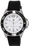 Tommy Hilfiger 1790929 45mm Stainless Steel Case Black Rubber Mineral Men's Watch