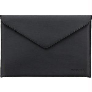 """Toshiba 13-Inch Ultrabook Envelope Sleeve - Notebook Carrying Case - 13.3"""" - Black - For Kira, Kirabook 13 I5, 13 I5m, 13 I5sm, 13 I7, 13 I7m, Port g Z10, Z15, Z30, Z830, Z930 """"Product Type: Supplies & Accessories/Notebook Carrying Cases"""""""