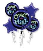 (Over the Hill Birthday Balloons - Adult Birthday Balloon)