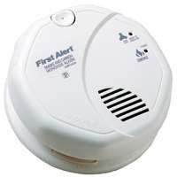 Brk Smoke & Carbon Monoxide Alarm W/Voice Photoelectric 120 V 85 Db 2″