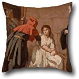 16 x 16 inches / 40 by 40 cm oil painting Edouard Moyse - Inquisition cushion covers ,twin sides ornament and gift to father,indoor,club,dance room,birthday,monther