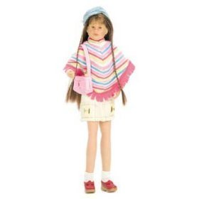 Striped Poncho & Cargo Skirt - Only Hearts Club