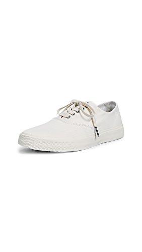 Sperry Top-Sider Women's Captains CVO Sneaker, White, 8 Medium US