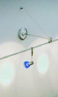 (WAC Lighting LM-OWP-BN LV Monorail Wall External Bracket Power)