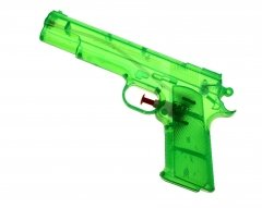 40 Wasserpistolen 20 cm transparent Wasserpistole