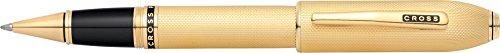 Cross Peerless 125 23KT Heavy Gold Plate Selectip Rolling Ball Pen with 23KT Gold Plated - Gold Rolling Ball Pen Selectip