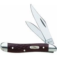 Case Brown Jigged Peanut Pocket Knife