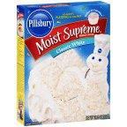 Pillsbury Moist Supreme Cake Mix Classic White 15.25 OZ (Pack of 24) (Pillsbury Classic White Cake Mix)