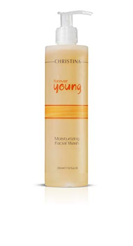 Forever Young Moisturizing Facial Wash – Botanical-based Cleanser for Normal, Oily Combination skin, 10 fl oz