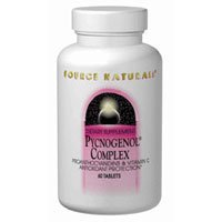 Pycnogenol, Complex 60 Tabs by Source Naturals (Pack of 6)