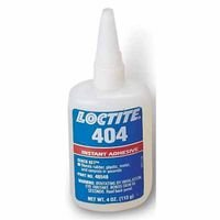 4-Oz. Quick Set 404 Industrial Adhesive, Sold As 1 Bottle