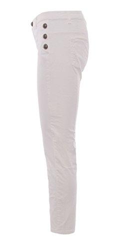 Coton Rinascimento CFC0079669003WHITE Jeans Femme Blanc xq0ZXZwFt