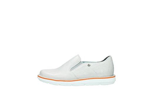 white 30120 Wolky 08476 Flint Leather Slipons Comfort Off FnIIqaYr