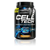 Muscletech - Cell Tech Performance Series - Orange, 3 lb powder