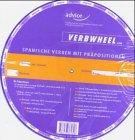 Verbwheel, Spanische Verben mit Präpositionen, Spanisch-Deutsch, Drehscheibe
