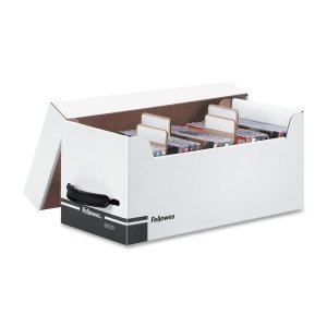 Fellowes Corrugated Box - Fellowes Bankers Box Corrugated Disk/CD Stor Boxes by Fellowes