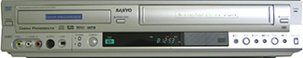 Sanyo DRW-1000 DVD Video Recorder w/ 4-HEAD Hi-Fi VCR