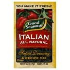 Good Seasons Salad Dressing & Recipe Mix Italian All Natural, .7 OZ (Pack of 48)
