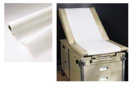 21'' x 225' Standard Smooth Exam Table Paper - Case of 12 Rolls by BodyMed (Image #1)