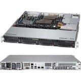 Supermicro SuperServer Dual LGA2011 400W 1U Rackmount Server Barebone System, Black SYS-6017R-M7UF