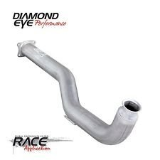 Diamond Eye Performance Dpf-Race, Downpipe, 4In; Alum: 2011 - 2012 Chevy/Gmc 6.6L Duramax 2500/3500 - 324114 (Dpf Race Pipe)