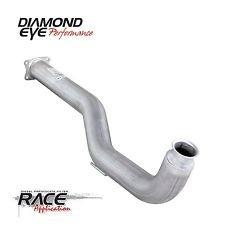 Diamond Eye Performance Dpf-Race, Downpipe, 4In; Alum: 2011 - 2012 Chevy/Gmc 6.6L Duramax 2500/3500 - (Dpf Race)