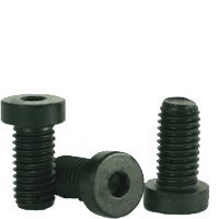 Socket Low Head Cap Screw, 6-32 x 5/8'', Alloy Steel, Black Oxide, Hex Socket (Quantity: 100) Coarse Thread, 6 Hexagonal Allen Bolt, Length: 5/8 inch by Newport Fasteners