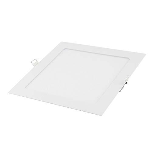 Bubbry Pantallas Planas LED ultrafinas empotradas Panel de luz LED 5 PCS 15W LED Downlight